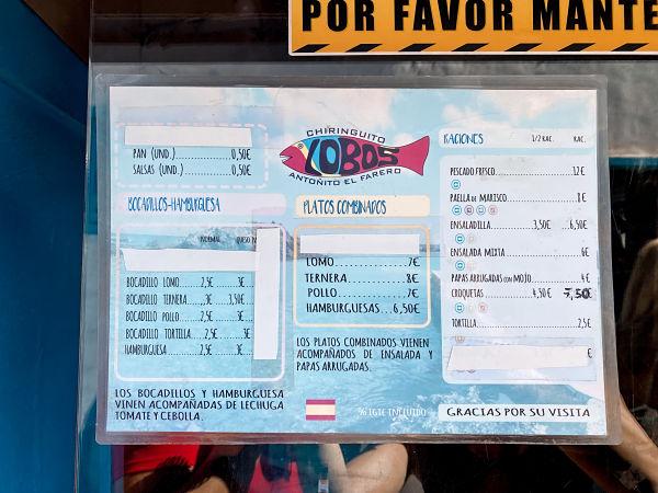 menu-restaurante-isla-lobos-chiringuito-antonito-farero